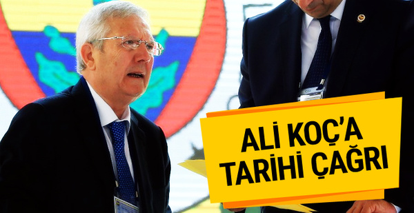 Aziz Yıldırım'dan Ali Koç'a tarihi çağrı