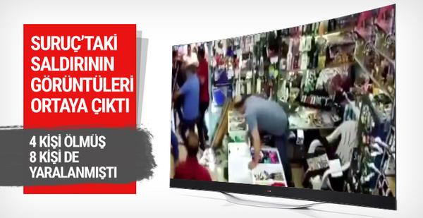 Suruç'ta AK Partililere saldırının görüntüleri ortaya çıktı