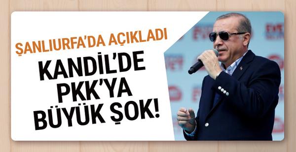 Erdoğan: Kandil'in lider kadrosunu hallettik!