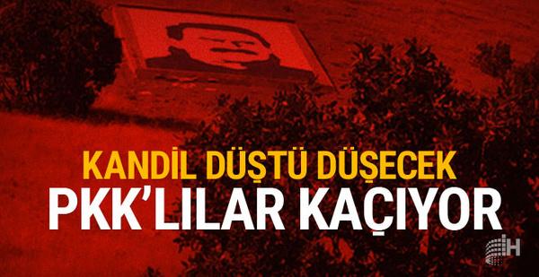 PKK Kandil'den kaçıyor!