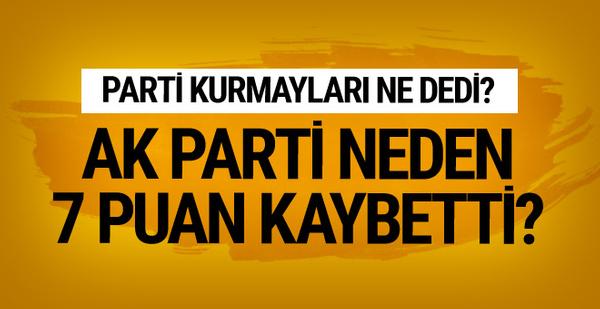 AK Parti neden 7 puan kaybetti? Parti kurmayları değerlendirdi