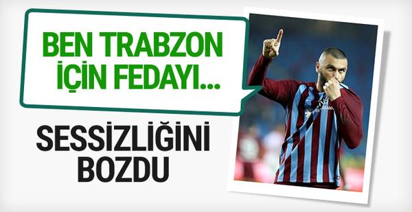 Burak Yılmaz'dan flaş Trabzonspor açıklaması