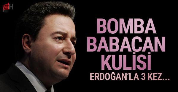 Bomba Ali Babacan kulisi! 3 kez görüştüler...