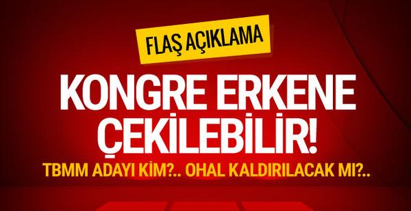 AK Parti'den flaş OHAL açıklaması! Görünen o ki...