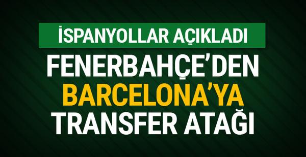 Fenerbahçe'nin yeni forveti Barcelona'dan
