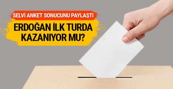 Güvenilir anket şirketinde Erdoğan ilk turda kazanıyor mu?