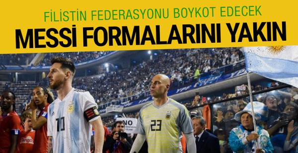 Filistin Federasyonu Arjantin maçını boykot edecek
