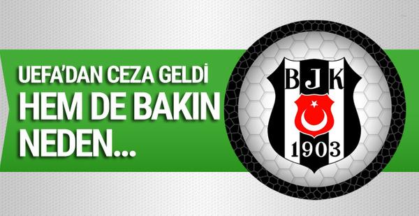 UEFA'dan Beşiktaş'a para cezası