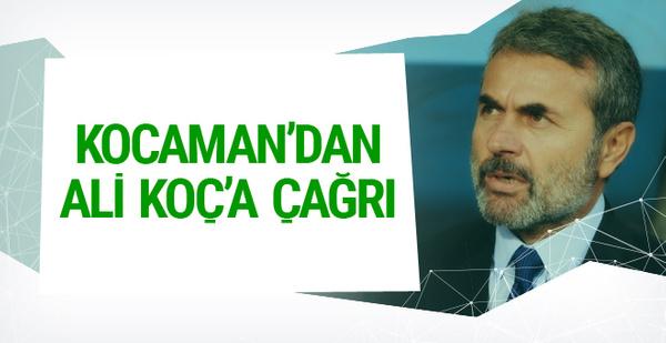 Aykut Kocaman'dan Ali Koç'a çağrı