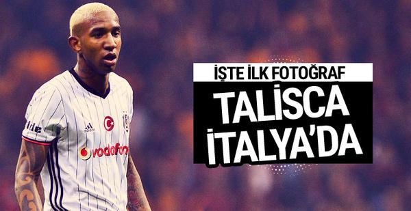 Beşiktaş'tan ayrılan Talisca İtalya'da