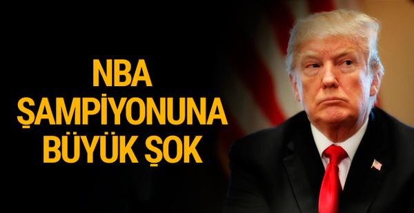 Donald Trump'tan olay NBA kararı