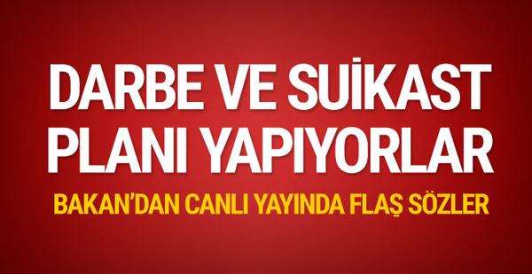 Bakan Soylu'dan flaş sözler: Darbe ve suikast planı içindeler!