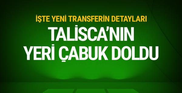 Beşiktaş Talisca'nın yerini doldurdu