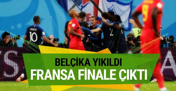Fransa Belçika maçı sonucu ve özeti