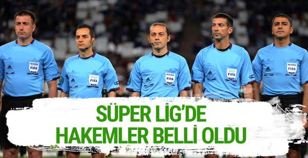 MHK Süper Lig Hakemleri'ni açıkladı