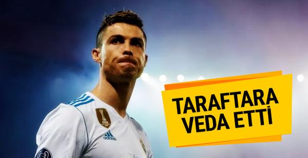 Cristiano Ronaldo'dan Real Madrid taraftarına veda