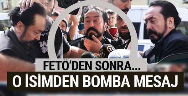 Adil Serdar Saçan'dan bomba Adnan Oktar mesajı! Belasını buldu