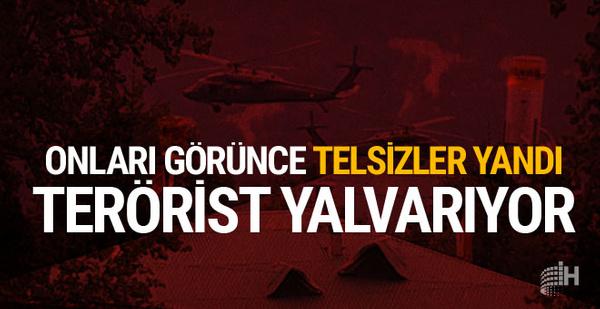 PKK'lılar telsizde böyle yalvardı! Kıstırıldılar...