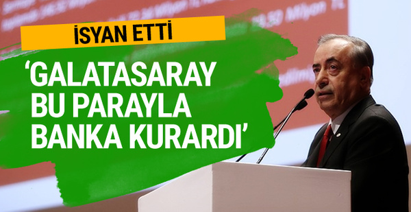 Galatasaray'da Mustafa Cengiz isyan etti