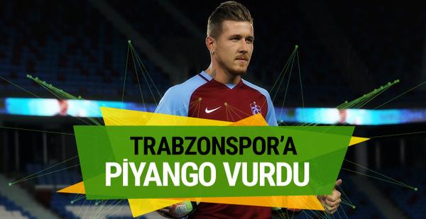 Trabzonspor'a piyango vurdu