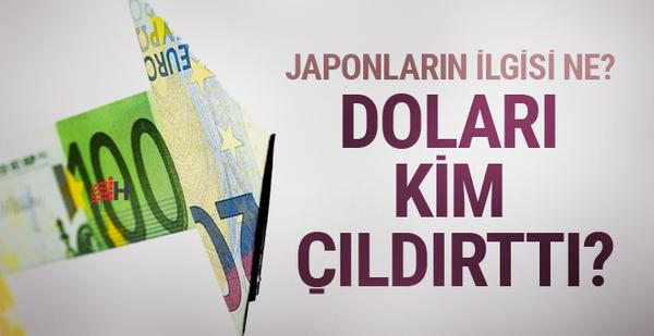 Dolar neden yükseldi Japonların etkisi ne? Kuru yükseltip...