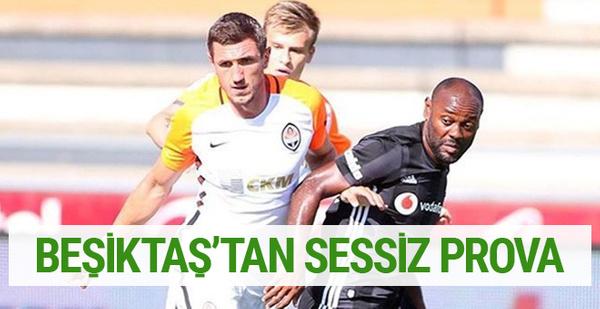 Beşiktaş'tan sessiz prova