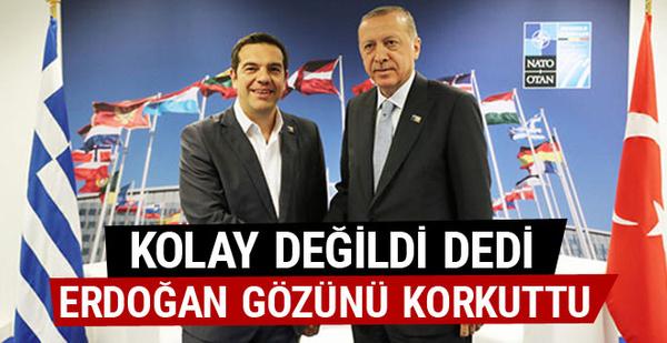 Çipras'tan Erdoğan'la görüşme açıklaması