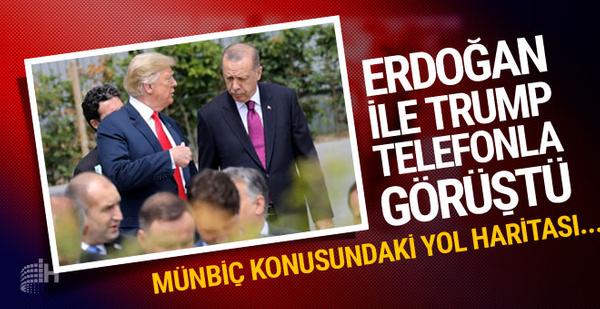 Erdoğan ile Trump görüştü gündemde neler var?..