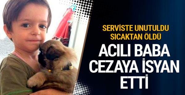 Serviste ölen Alperen'in mahkemesinden karar çıktı