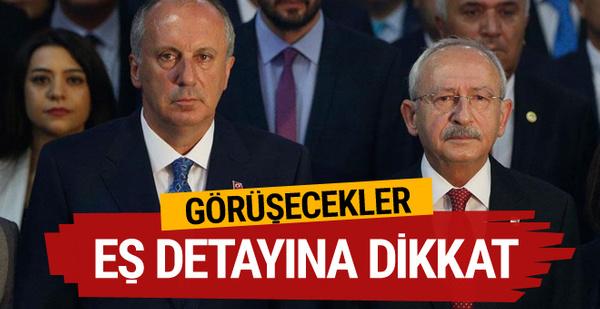 Kılıçdaroğlu ve İnce'den son dakika kararı