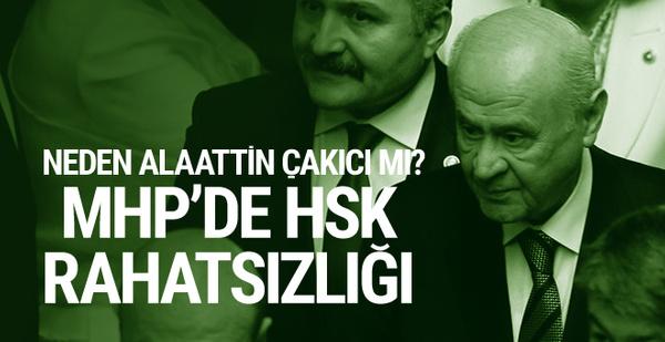 HSK'nın başsavcı kararına MHP'den tepki