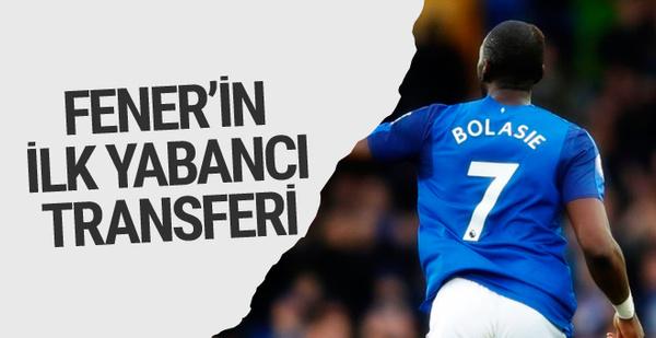 Fenerbahçe'nin ilk yabancı transferi Bolasie olacak