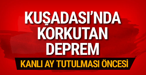 İzmir'de korkutan deprem! Panik var...