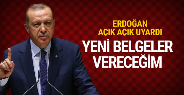 Erdoğan'dan Güney Afrika'ya uyarı: Yeni belgeler vereceğim