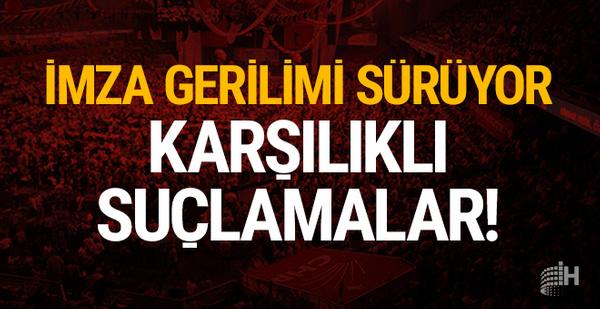 CHP'de imza gerilimi tam gaz: Karşılıklı suçlamalar!