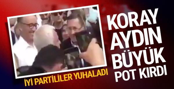 Koray Aydın'dan partilileri çileden çıkaran gaf!