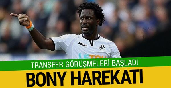 Görüşmeler başladı! Beşiktaş'ta Bony harekatı!
