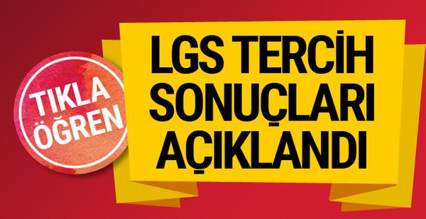 LGS sonuçları açıklandı MEB LGS tercih sonucu e okul sorgulama ekranı