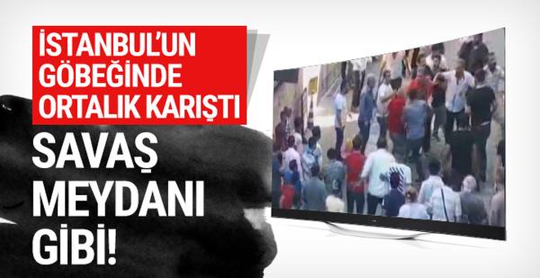 İstanbul'un göbeğinde ortalık bir anda karıştı!