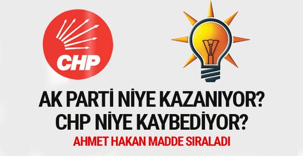 AK Parti niye kazanıyor CHP niye kaybediyor? Ahmet Hakan yazdı