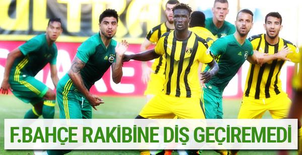Fenerbahçe İstanbulspor ile berabere kaldı