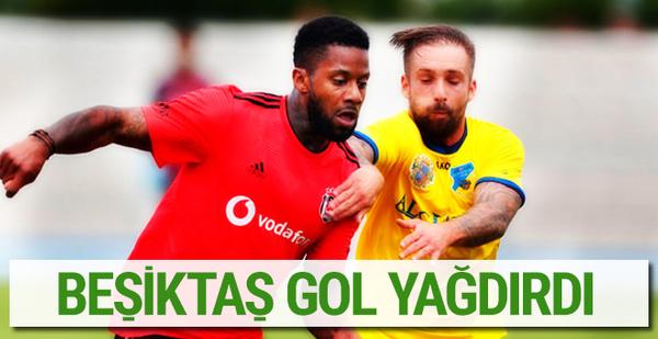 Beşiktaş rakibine gol yağdırdı