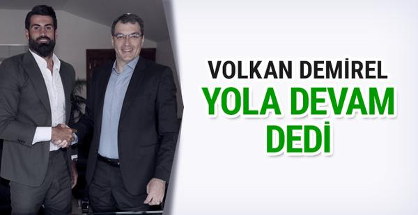 Fenerbahçe Volkan Demirel ile sözleşme yeniledi