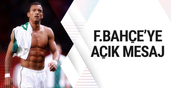 Nani Fenerbahçe'ye açık açık mesaj gönderdi!