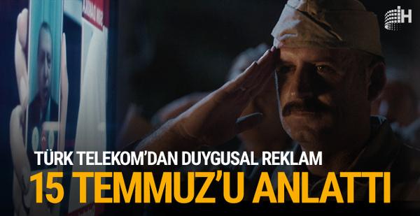 TürkTelekom'dan 15 Temmuz'da milli irade mesajı