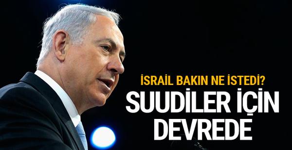 İsrail'den ABD'ye Suudi Arabistan şartı