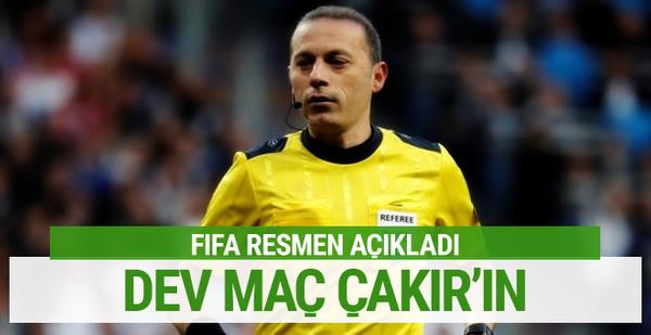 Hırvatistan-İngiltere maçı Cüneyt Çakır'ın
