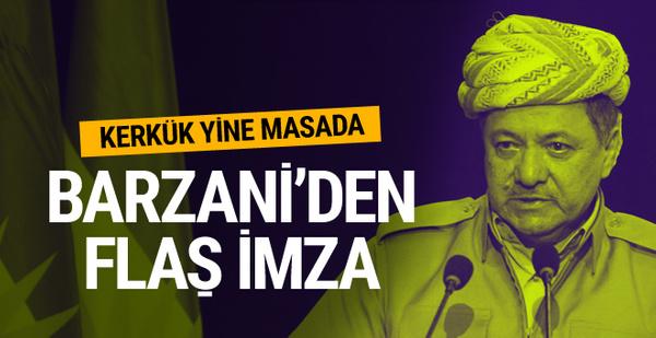 Irak'ta flaş iddia! Barzani onlarla anlaştı