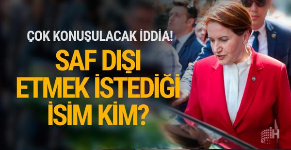 Gündemi sarsacak Meral Akşener iddiası! Hedefindeki isim kim?