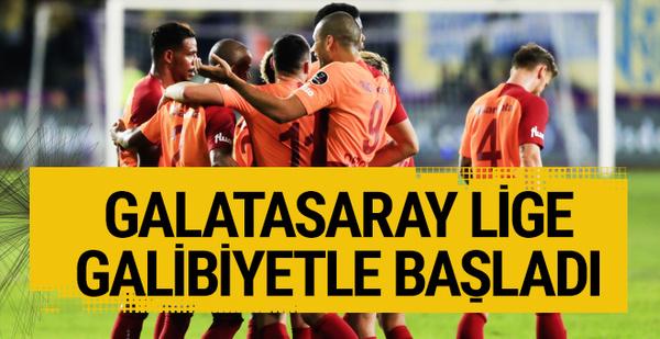 Ankaragücü Galatasaray maçı golleri ve geniş özeti